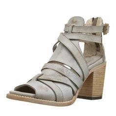 Femmes PU Talon stiletto Sandales Escarpins avec Lanière tressé chaussures