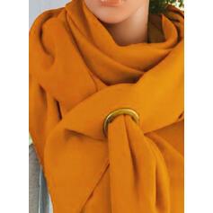 ソリッドカラー ファッション/シンプル スカーフ