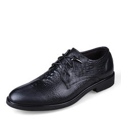 Men's Real Leather Casual Men's Oxfords