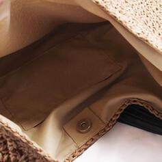 Clássica/Bolinho de massa Shaped/Estilo boêmio/Trançado Bolsas de lona/Sacos de praia/Hobo Malas