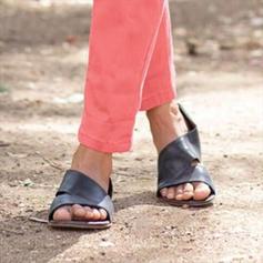Femmes PU Talon bas chaussures