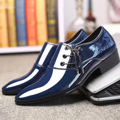 Penny Loafer Casual Trabalhos Couro Brilhante Homens Oxfords Masculinos