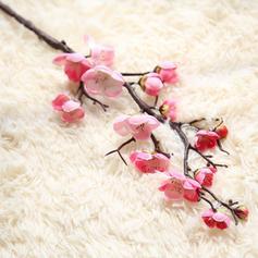 """23.62""""(Approximative 60cm) Branches Tissu synthétique Fleurs en soie ( ensemble de 3)"""
