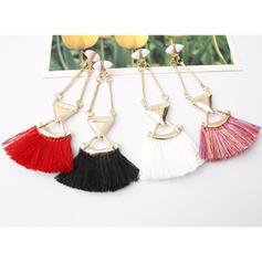 Alloy Acrylic With Tassels Women's Fashion Earrings