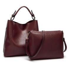 Encanto/De moda/Color sólido Bolsas de mano/Bolsos cruzados/Bolso de Hombro/Conjuntos de bolsa