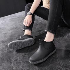 Femmes Hommes Caoutchouc Talon bas Bottes de pluie avec Autres chaussures