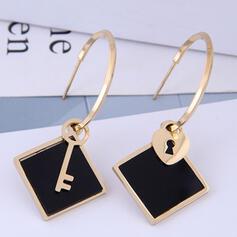 Fashionable Titanium Steel Earrings