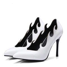 Women's Leatherette Stiletto Heel Pumps With Others shoes