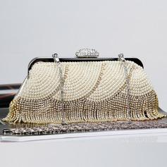 Lumineux Cristal / Strass/Perle d'imitation/Alliage Pochettes/Cartable
