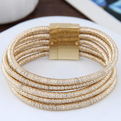 Simple Alloy Ladies' Fashion Bracelets