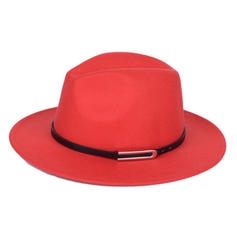 Unisex Eye-catching Felt Fedora Hats