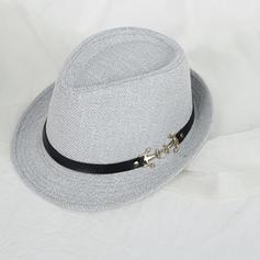 Unisex Nejžhavější Akryl/Slaná sláma Slaměný klobouk/Plážové Klobouky/Panama Hat