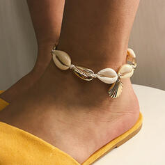 Shell Alloy Bracelets Beach Jewelry