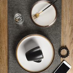 Contemporain Porcelaine Ensembles de vaisselle (lot De 3)