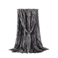 Serpentine/Tassel Light Weight/Oversized/attractive/fashion Scarf