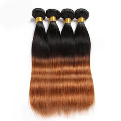 Straight Human Hair Human Hair Weave (Sold in a single piece)