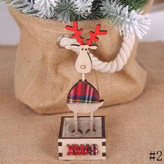 Merry Christmas Reindeer Tabletop Wooden Christmas Décor Diy Craft