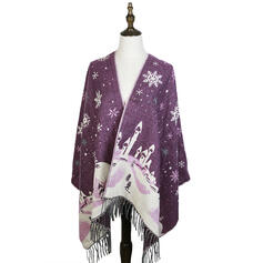 Tassel/Christmas fashion/Multi-functional/Christmas Scarf/Shawl