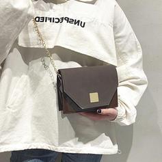 Delicate PU/Abrasive Cloth Crossbody Bags/Shoulder Bags