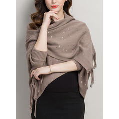 Culoare solida Gât/Oversized/Vreme rece wraps