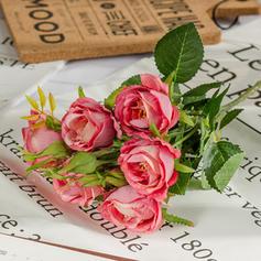 20'' Des roses Soie Plastique Bouquets