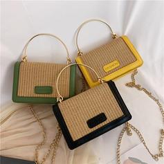 Braided PU/Straw Crossbody Bags/Shoulder Bags/Beach Bags