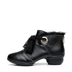 Жіночі Кросівки Кросівки Реальна шкіра Мереживо Сучасне взуття