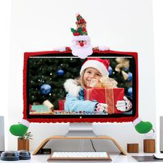joyeux Noël Bonhomme de neige Renne Père Noël Tissu non tissé Décor de Noël