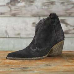 Női PU Alacsony sarok Csizma -Val Egyéb cipő