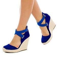 Donna PU Zeppe Zeppe con Altrui scarpe