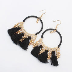 Beautiful Alloy With Tassels Ladies' Fashion Earrings