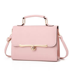 Fashionable/Solid Color Satchel
