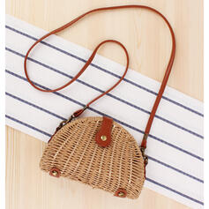 Dumpling Shaped/Vintga/Bohemian Style/Braided/Simple Shoulder Bags
