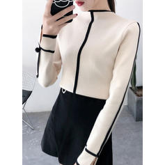 Stand Collar Sweaters