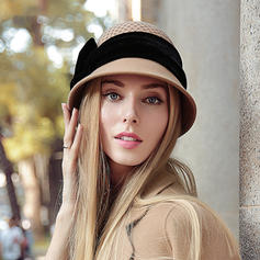 Ladies' Glamourous/Elegant/Simple Wool Floppy Hats