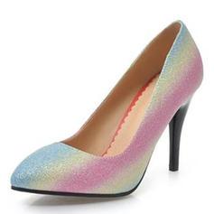 Dla kobiet Skóra ekologiczna Obcas Stożek Czólenka Zakryte Palce obuwie