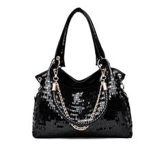 Elegant/Shining/Solid Color Shoulder Bags/Hobo Bags