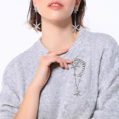 Einzigartig Legierung mit Strass Frauen Mode-Broschen