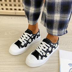 Femmes Toile Décontractée De plein air avec Élastique chaussures