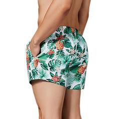 Men's Floral Swim Trunks