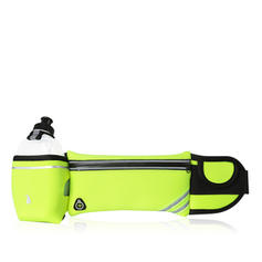 Unisex Outdoor Water Bottle Holder pouch belt Mobile Phone Pocket Case Sports waist Bag (include:Water bottle)