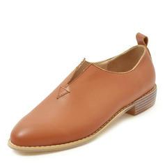 Kvinder PU Stor Hæl Pumps sko