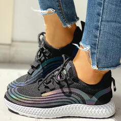 Women's Cloth Casual Outdoor Athletic With Lace-up shoes