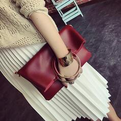 De moda/Atractivo/Color sólido/Simple Bolso de Hombro/Conjuntos de bolsa