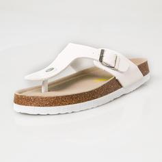 De mujer Brillo Chispeante Tacón plano Sandalias Planos con Lentejuelas zapatos