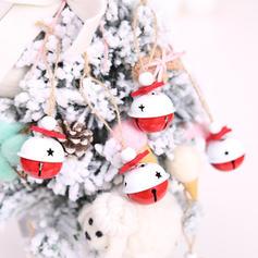 Merry Christmas Hanging Metal Christmas Pendant Christmas Bell