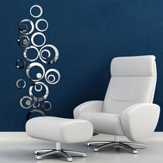 Modern Any Shape Wall Stickers Set of 23