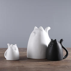 Simple Ceramic Animals Figurines & Sculptures