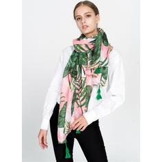 Floral Poids léger/Énorme Écharpe