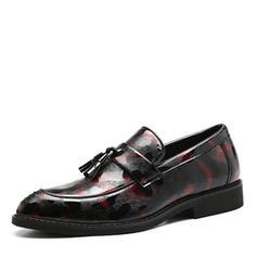 Tassel Loafer Casual Leatherette Men's Men's Loafers